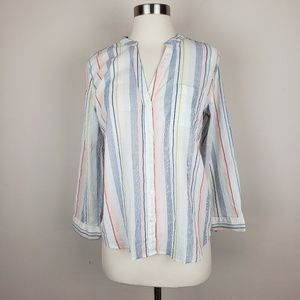 J CREW MERCANTILE NEW BLOUSE